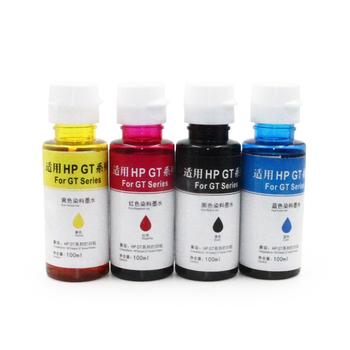 Ocbestjet 100ml/bottle 4 Colors New Improved Universal Refill Dye Ink For  Hp Deskjet Gt 5810/5820 Series Print - Buy Dye Ink For Hp Deskjet Gt
