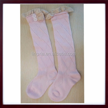 d343c309a Cable Knitted Childrens Leg Warmers Boot Socks