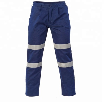 Navy polyester work trousers Wholesale cheap mens cargo workwear working trousers