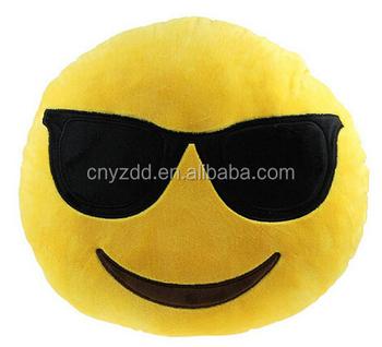 Wholesale Emoji Pillow/stuffed Emoji Pillows Kiss Love Heart Smile Face  Yellow Round Cushion Pillow - Buy Wholesale Emoji Pillow,Stuffed Emoji