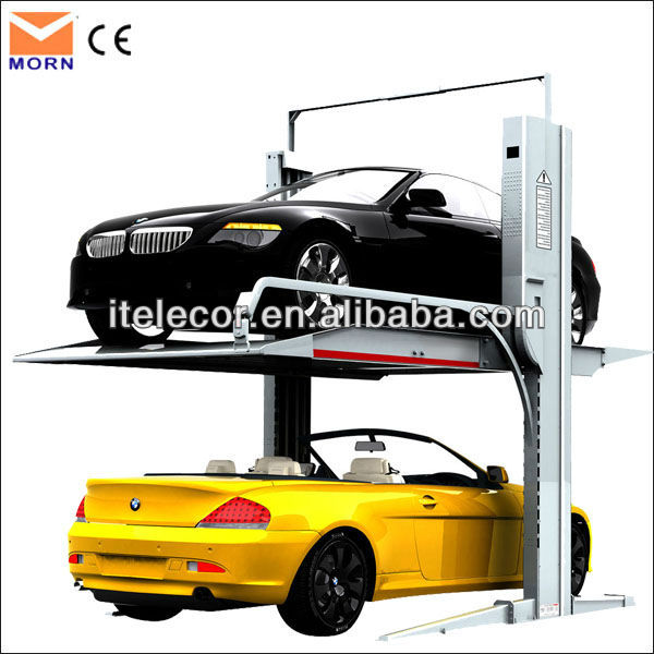 CE certification and 2 post car lift for home garages
