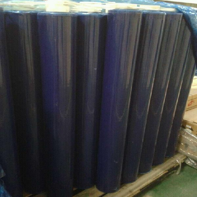 High sticky Nitto brand PVC thailand blue film for LED/Circuit board