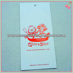 custom garment accessories women clothing hot foil brand tags