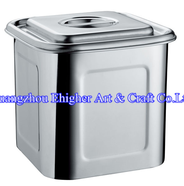 Square 555 Stainless Steel Stock Pot