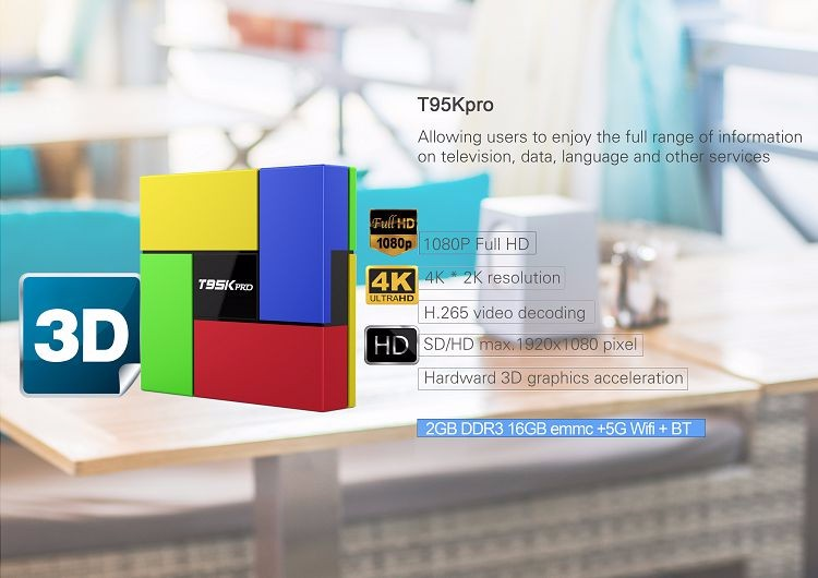 T95k Pro Amlogic S912 Iptv Box Android 6 0 2g 16g With Free European Arabic  Italy Canal Sport Iptv Channels Hd Media Player - Buy T95k Pro Amlogic