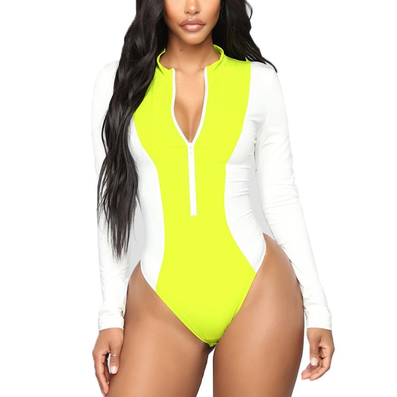 Long sleeve v neck ladies bodysuits for women top blouse bodysuit фото