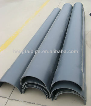 Pvc Plastic Flume Pipe View Pvc Flume Pipe Erlang Shen Product Details From Shandong