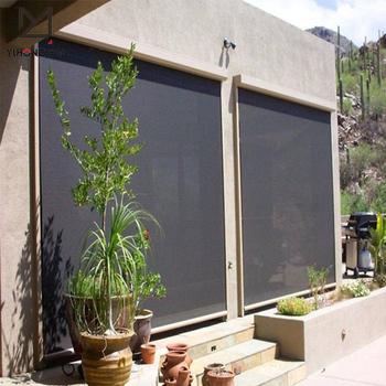 Good Quality Block Sun Outdoor Waterproof Roller Shade