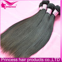 100 virigin hair weaving net full end and thick 100% natural raw virgin Brazilian hair extension hair weft