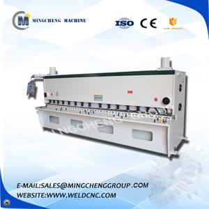 high quality cnc shearing machine stainless steel bosch iron cutting machine metal shering machine with foot pedal