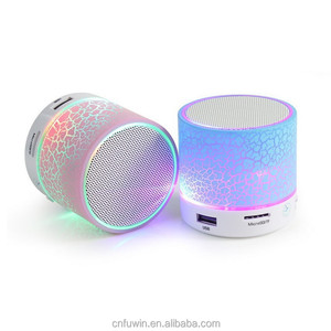 Genuine quality mini travel speaker, high quality stereo portable trolley speaker Good LED Wireless Speaker