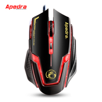 2018 Professional Gaming Mouse 4D optical wired Adjustable High DPI gamer computer IMICE gaming computer mouse