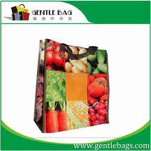Customize laminated photo print shopping bag