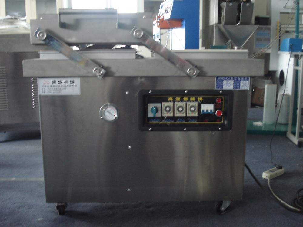 semi automatic peanuts / dry fruits / dates vacuum packing machine