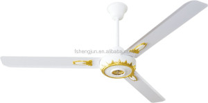 Cheap national factory TMT SMC CEILING FAN with 56 inch big stainless steel blade Saudi Arabia Egypt Turkey