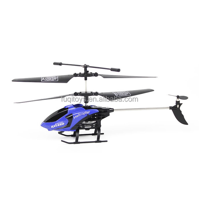 toy helicopter FQ777-610 AIR FUN 3.5CH Infrared Control Helicopter RC Copter With Gyro RTF - Black + Blue