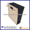 hard cover file folder with elastic rubber band