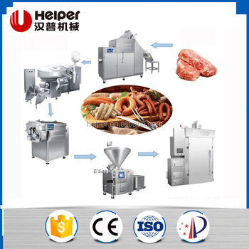 Best-selling sausage making machine for sale,SS sausage production line