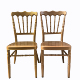 Wedding Golden Napoloen Chairs for Sale