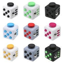 Classic frosted 6 Sides For Relieves Stress Gadget Fidget Cube