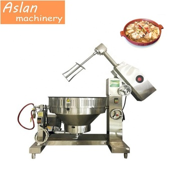 Boiling jacketed kettle machine for food /Small evaparation sandwich cooking pot /Electric planetary cooking mixer machine