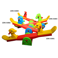 Kindergarten Playground Toys Children Plastic Seesaw For Children