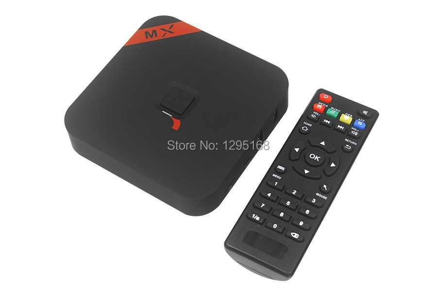 MXQ Amlogic S805 Quad Core XBMC TV Box Android 4.4 OS H.265 Support Wifi LAN Miracast Airplay 1G RAM 8G ROM DLNA internet tv box