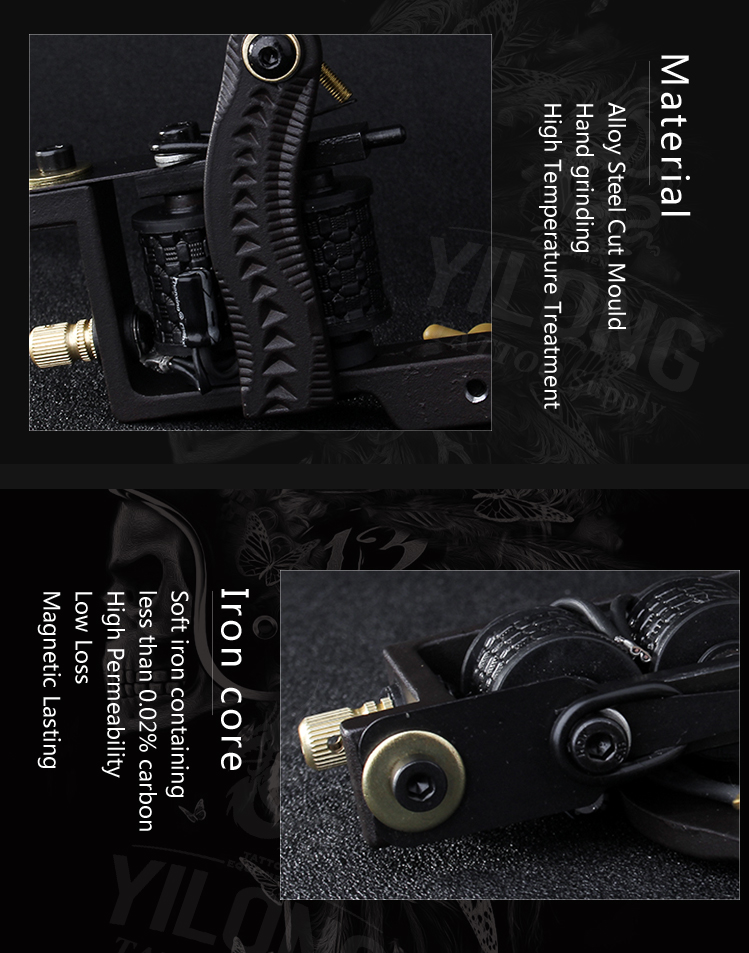 Yilong Custom best coil tattoo machines on the market factory for tattoo machine-10