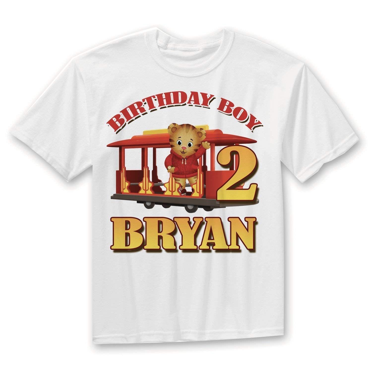 Get Quotations Daniel Tiger Birthday Shirt The Shirts