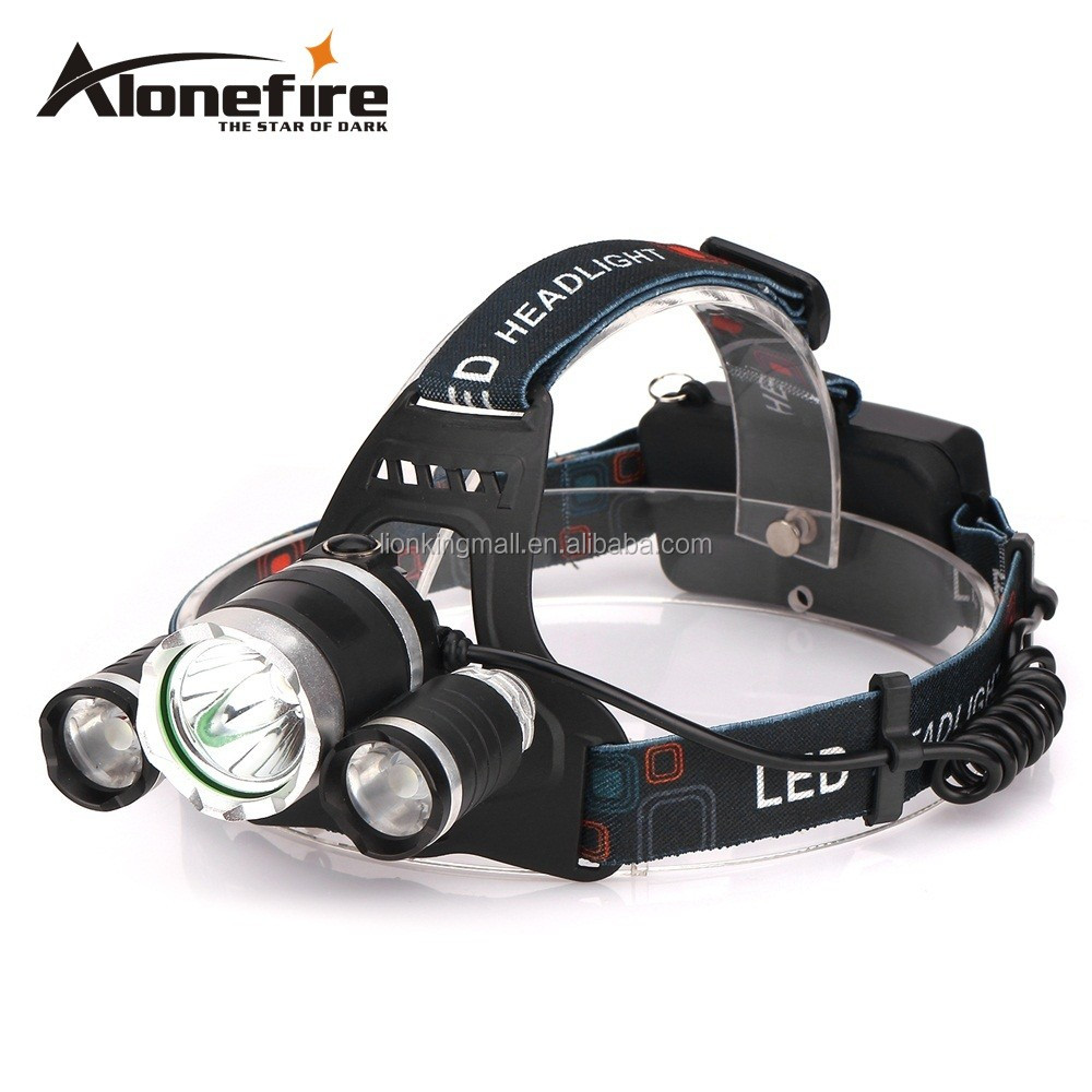 AloneFire HP83 9000lm 3T6 Boruit Head Light Headlamp Outdoor Light Head Lamp HeadLight Rechargeable for 18650 Fishing Camping