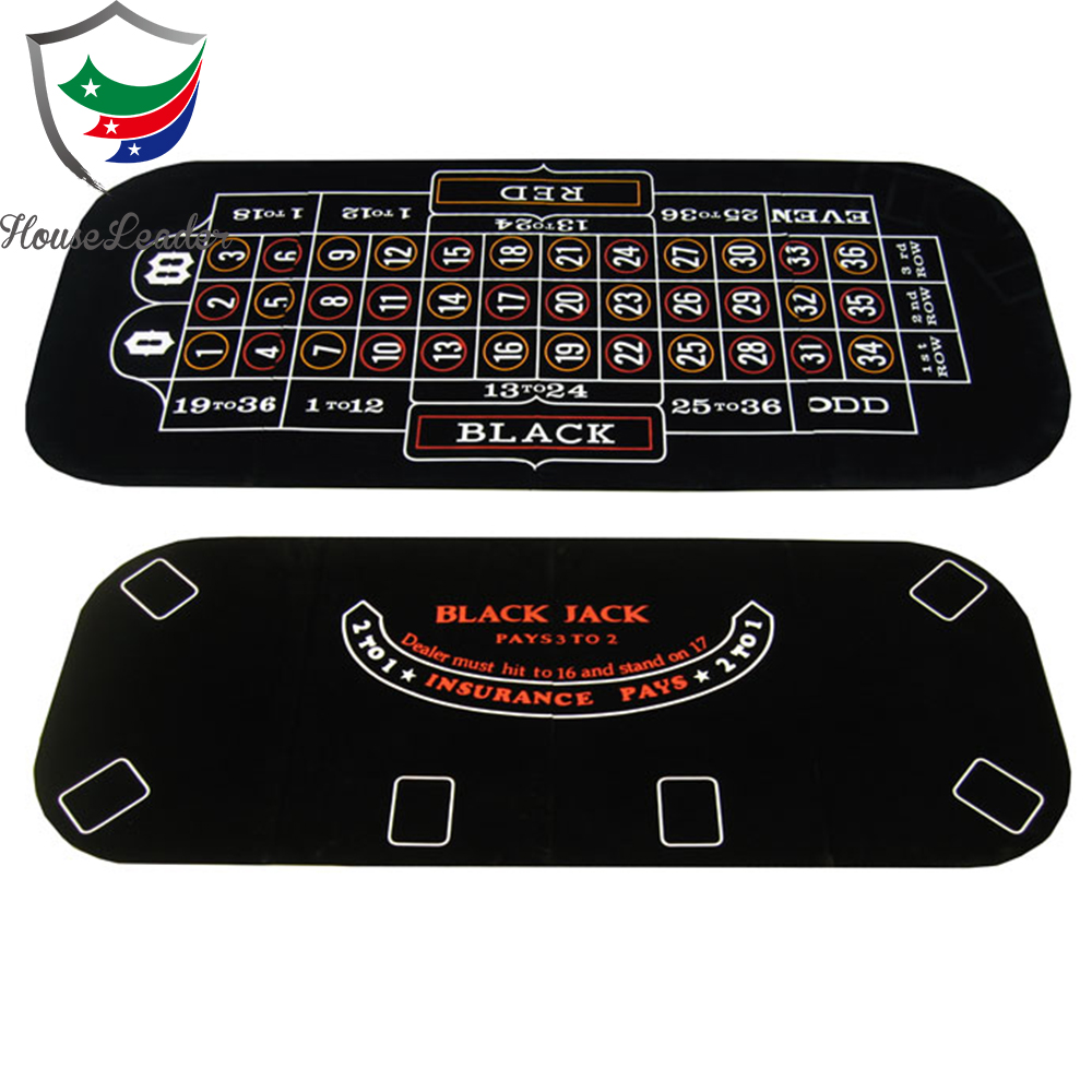63'' 3 in 1 Blackjack & Roulette Poker Table Top