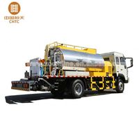 High Automation Degree CHTCAD0660 road maintenance vehicle asphalt distributor truck with high efficiency