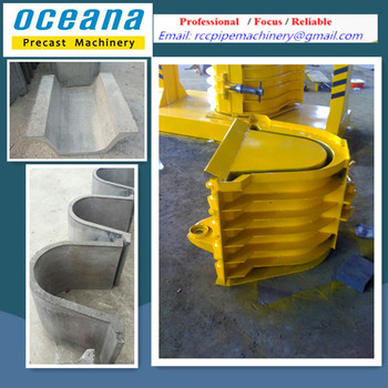 Beton In Form concrete u shaped channel forming machine for water beton u form