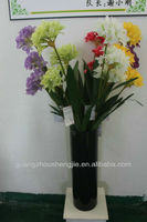 decoration artificial flower blue lily