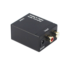 Factory supply <span class=keywords><strong>Analoge</strong></span> RCA Digitale optische toslink Audio Converter Box met hoge kwaliteit