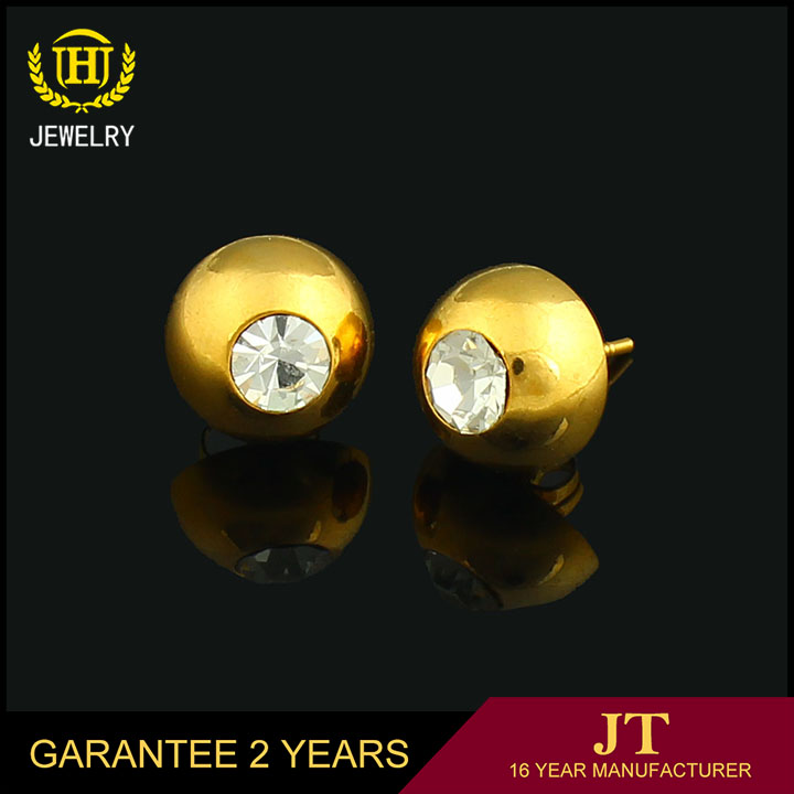 Jh Jewelry 3 Gram Gold Beautiful Designed Earrings For Girls Buy