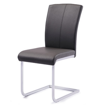 cheap soft pu faux leather covered black soft pu dining chairs buy