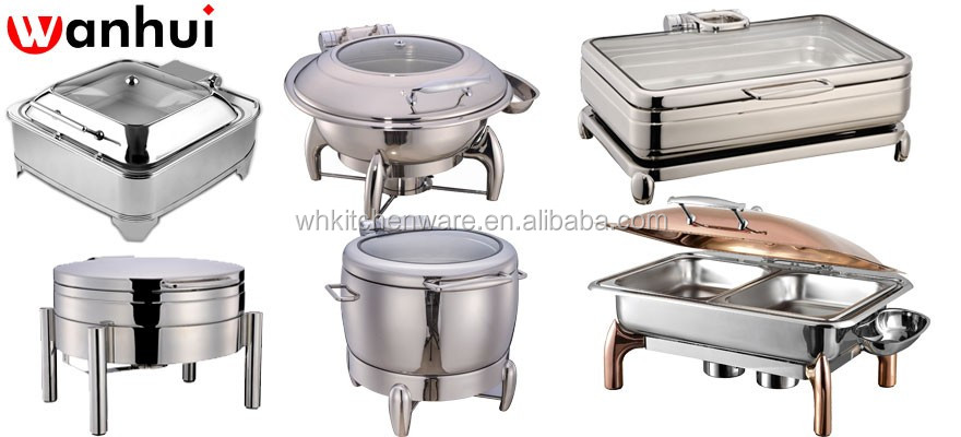 hydraulic hammered chafing dish for hotel