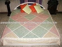 Hand hand embroidery aplic work cushiontutorial rilli work