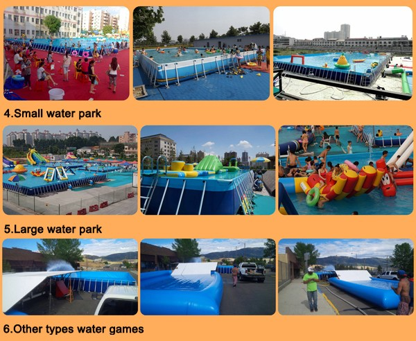 Festival Activities Swimming Pool Water Slides