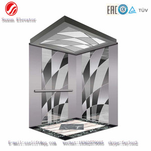 Fast Speed And Noiseless GB7588 Cheap Passenger Elevator Lifts Parts cheap residential lift elevator