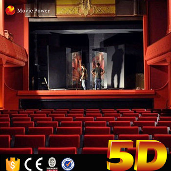 Movie Power New Business Ideas Dynamic Large 5d Cinema For Sale