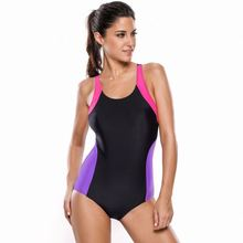 New Fashion One Piece Japanese Sports Competition Swimwear Swim Suit Women Swimsuit