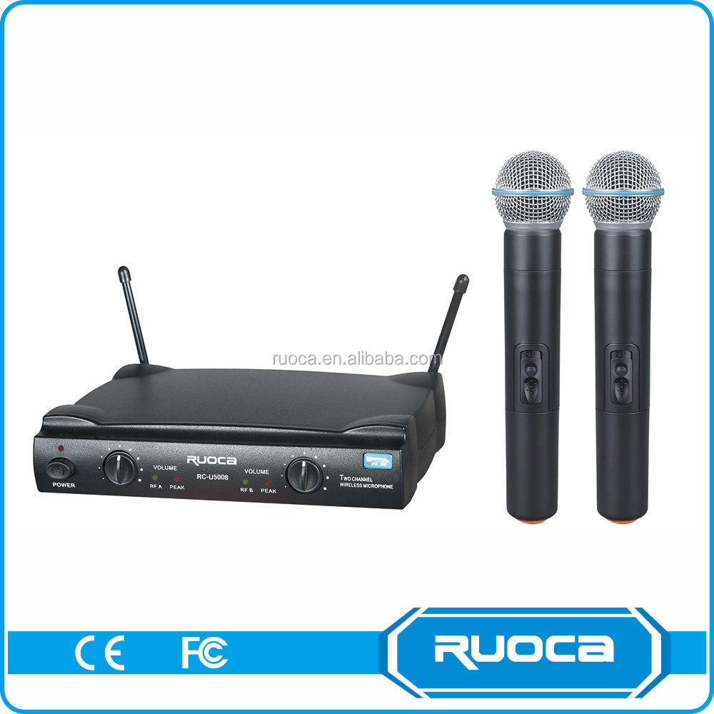 Conference system collar headset vhf wireless microphone