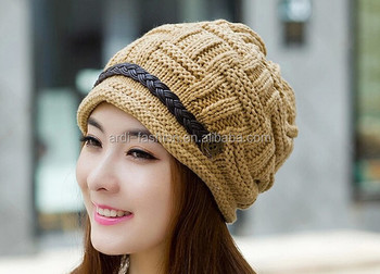 Latest Wholesale Acrylic Wook Warm Winter Ladies Knit Hats - Buy ... 20d005039fc