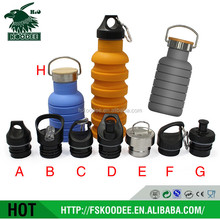 Promotional Silicone Folding Bottle, Available in Assorted Colors silicone water bottle