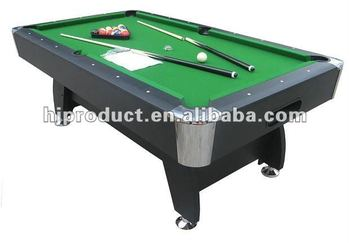 Pool Billiard Table Seven Foot Family Game Room Red Blue Green - Seven foot pool table