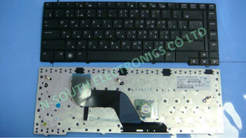 Laptop keyboard For hp elitebook 8440p 8440w black RU layout with point stick v103102cs1