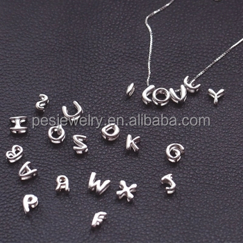 PES Fashion Jewelry! Customized Changeable Initial Letter Pendant Necklace (PES3-1337)