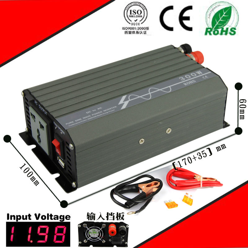 300W DC48v-AC220v pure sine wave power solar inverters